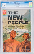 Bronze Age (1970-1979):Miscellaneous, New People #1 File Copy (Dell, 1970) CGC NM+ 9.6 Off-white to whitepages....