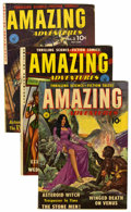Golden Age (1938-1955):Science Fiction, Amazing Adventures #1-3 and 5 Group (Ziff-Davis, 1950-51)Condition: Average VG.... (Total: 4 Comic Books)