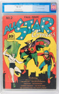 Golden Age (1938-1955):Superhero, All Star Comics #2 (DC, 1940) CGC FN+ 6.5 Cream to off-white pages....