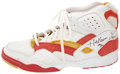 Basketball Collectibles:Uniforms, Hakeem Olajuwon Game Used & Signed Shoe. ...