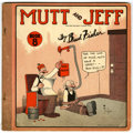 Platinum Age (1897-1937):Miscellaneous, Mutt and Jeff Book 8 (Cupples & Leon, 1922) Condition: VG....