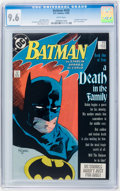 Modern Age (1980-Present):Superhero, Batman #426 and 428 CGC-Graded Group (DC, 1988-89).... (Total: 2Comic Books)