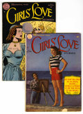 Golden Age (1938-1955):Romance, Girls' Love Stories #7 and 11 Group (DC, 1950-51).... (Total: 2Comic Books)