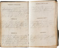 Military & Patriotic:Civil War, Gettysburg 1863 Diary kept by Corp. John Scott, Co. B, 104th New York Vol. Inf., ...