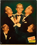 "Movie Posters:Musical, Anything Goes (Paramount, 1936). Jumbo Lobby Cards (4) (14"" X 17"").. ... (Total: 4 Items)"