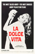 """Movie Posters:Drama, La Dolce Vita (Astor Pictures, 1961). One Sheet (27"""" X 41"""").. ..."""