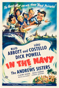 "Movie Posters:Comedy, In the Navy (Universal, 1941). One Sheet (27"" X 41"").. ..."