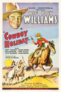 "Movie Posters:Western, Cowboy Holiday (Beacon, 1934). One Sheet (27"" X 41"").. ..."
