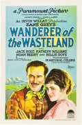 """Movie Posters:Western, Wanderer of the Wasteland (Paramount, 1924). One Sheet (27"""" X 41"""") Style B.. ..."""