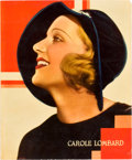 "Movie Posters:Miscellaneous, Carole Lombard Personality Poster (Paramount, 1930s). Jumbo LobbyCard (14"" X 17"").. ..."