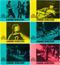 "Movie Posters:Rock and Roll, Gimme Shelter (20th Century Fox, 1970). Lobby Card Set of 12(10.75"" X 15"").. ... (Total: 12 Items)"