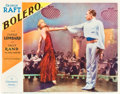 "Movie Posters:Drama, Bolero (Paramount, 1934). Lobby Card (11"" X 14"").. ..."