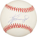 Autographs:Baseballs, Ken Griffey, Jr. UDA Single Signed Baseball. ...