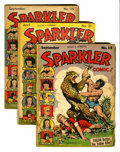 Golden Age (1938-1955):Miscellaneous, Sparkler Comics Group (United Features Syndicate, 1939-46) Condition: Average VG-.... (Total: 13 Comic Books)