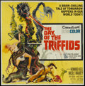 "Movie Posters:Science Fiction, The Day of the Triffids (Allied Artists, 1962). Six Sheet (81"" X81""). Science Fiction.. ..."