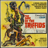"""The Day of the Triffids (Allied Artists, 1962). Six Sheet (81"""" X 81""""). Science Fiction"""