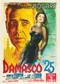 "Movie Posters:Drama, Sirocco (Columbia, 1951). Italian 2 - Folio (39"" X 55"").. ..."