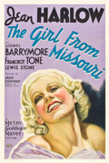 "Movie Posters:Comedy, The Girl from Missouri (MGM, 1934). One Sheet (27"" X 41"") Style C....."