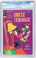 Bronze Age (1970-1979):Cartoon Character, Uncle Scrooge #114 (Gold Key, 1974) CGC NM 9.4 Off-white to whitepages....