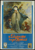 "Movie Posters:Animated, The Lord of the Rings (United Artists, 1978). Italian 4 - Folio (55"" X 78""). Animated.. ..."