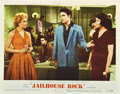 "Movie Posters:Elvis Presley, Jailhouse Rock (MGM, 1957). Lobby Cards (2) (11"" X 14"").. ...(Total: 2 Items)"