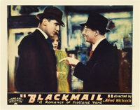"Blackmail (Sono Art-Worldwide Pictures, 1929). Lobby Card (11"" X 14"")"