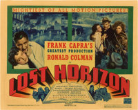 """Lost Horizon (Columbia, 1937). Title Lobby Card and Lobby Card (11"""" X 14""""). ... (Total: 2 Items)"""