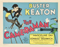 """Movie Posters:Comedy, The Cameraman (MGM, 1928). Title Lobby Card (11"""" X 14"""").. ..."""