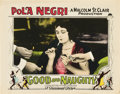 "Movie Posters:Drama, Good and Naughty (Paramount, 1926). Lobby Card (11"" X 14"").. ..."