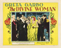 "Movie Posters:Drama, The Divine Woman (MGM, 1928). Lobby Card (11"" X 14"").. ..."