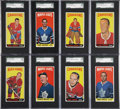 Hockey Cards:Lots, 1964-65 Topps Hockey Graded NM-MT Group of (21)....