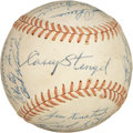 Autographs:Baseballs, 1955 New York Yankees Team Signed Baseball....