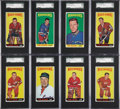 Hockey Cards:Lots, 1964-65 Topps Hockey Graded SGC 86 NM+ 7.5 Group of (17)....