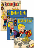 Silver Age (1956-1969):Humor, Richie Rich Group (Harvey, 1963-66) Condition: Average VF+.... (Total: 18 Comic Books)