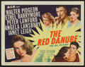 """Movie Posters:Drama, The Red Danube (MGM, 1949). Lobby Card Set of 8 (11"""" X 14""""). Drama.. ... (Total: 8 Items)"""