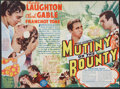 "Movie Posters:Adventure, Mutiny On The Bounty (MGM, 1935). Herald (9"" X 8.75""). Adventure....."