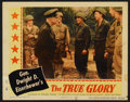 "Movie Posters:Documentary, The True Glory (Columbia, 1945). Lobby Card Set of 8 (11"" X 14""). Documentary.. ... (Total: 8 Items)"