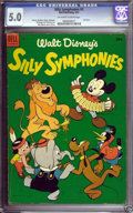 Golden Age (1938-1955):Cartoon Character, Dell Giant Comics Silly Symphonies #2 (Dell, 1953) CGC VG/FN 5.0 Off-white to white pages.