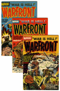 Golden Age (1938-1955):War, Warfront Group (Harvey, 1952-66) Condition: Average VF+.... (Total:28 Comic Books)