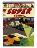 Golden Age (1938-1955):Miscellaneous, Super Comics #76 Rockford pedigree (Dell, 1944) Condition: NM-....
