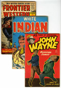 Golden Age (1938-1955):Western, Miscellaneous Golden and Silver Age Western Comics Group (VariousPublishers, 1949-73) Condition: Average GD/VG.... (Total: 31 ComicBooks)