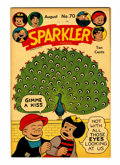 Golden Age (1938-1955):Miscellaneous, Sparkler Comics #70 Rockford pedigree (United Features Syndicate, 1947) Condition: NM-....