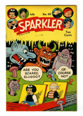 Golden Age (1938-1955):Miscellaneous, Sparkler Comics #69 Rockford pedigree (United Features Syndicate, 1947) Condition: VF/NM....