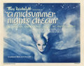 "Movie Posters:Fantasy, A Midsummer Night's Dream (Warner Brothers, 1935). Title Lobby Cardand Lobby Cards (3) (11"" X 14"").. ... (Total: 4 Items)"