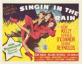 "Movie Posters:Musical, Singin' in the Rain (MGM, 1952). Title Lobby Card and Lobby Card (11"" X 14"").. ... (Total: 2 Items)"