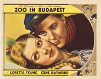 "Zoo in Budapest (Fox, 1933). Lobby Card (11"" X 14"")"