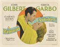 """Movie Posters:Drama, A Woman of Affairs (MGM, 1928). Title Lobby Card (11"""" X 14"""").. ..."""