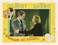 "Movie Posters:Drama, A Woman of Affairs (MGM, 1928). Lobby Card (11"" X 14"").. ..."