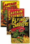 Golden Age (1938-1955):Science Fiction, Assorted Golden Age Science Fiction Comics Group (Various Publishers, 1950-58) Condition: Average GD-.... (Total: 6 Comic Books)