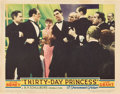 "Movie Posters:Comedy, Thirty Day Princess (Paramount, 1934). Lobby Cards (3) (11"" X 14"").. ... (Total: 3 Items)"